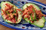 Will's BBQ Tofu Avocado Boats