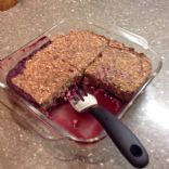 BLE Baked Oatmeal (WFPB) complete breakfast