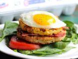 Bacon, Egg & Pineapple Turkey Burger