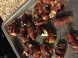 Bacon Wrapped Stuffed Sweet Peppers
