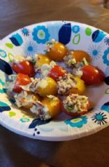 Bacon stuffed tomatoes