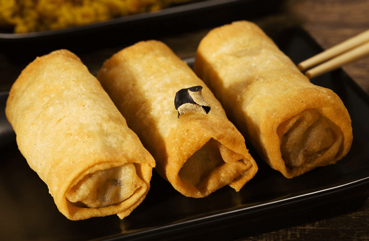 Baked Chicken Egg Rolls