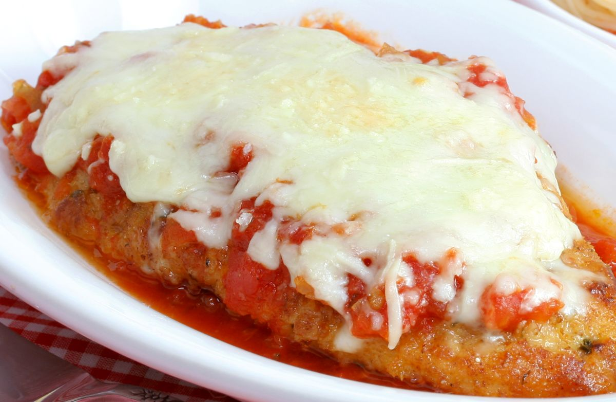 Baked Chicken Parmesan Recipe | SparkRecipes