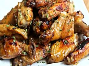 Baked Chicken Wings (6pc serving)(by Sharon.Lela)