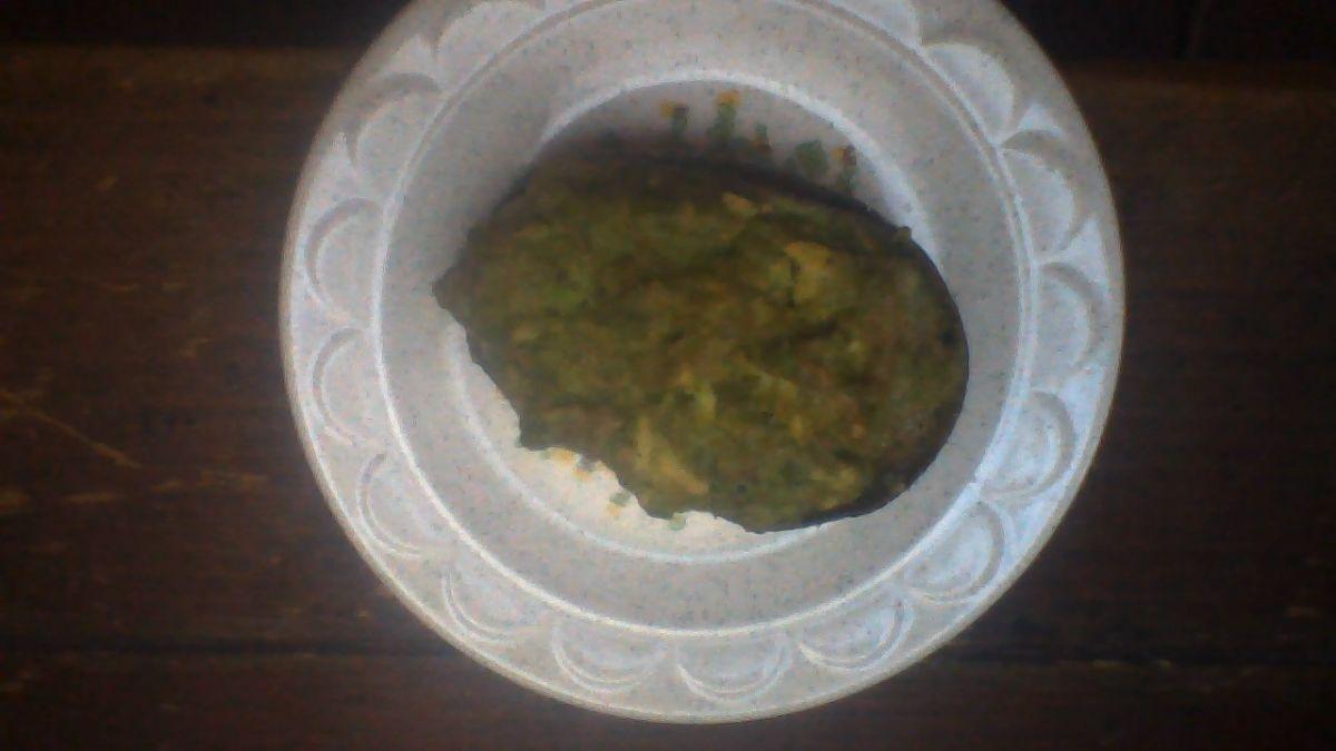 Baked Mashed Avocado