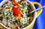 Baked Parmesan Quinoa Casserole