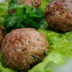 Atkins Baked Meatballs