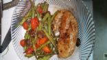 Balsamic Chicken and green beans