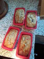 Banana Blueberry Yogurt Bread