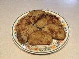 Banana French toast base (add calories per bread slice)