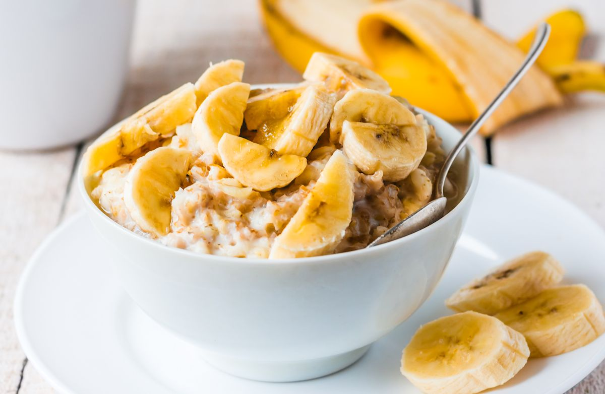 Banana Peanut Butter Oatmeal