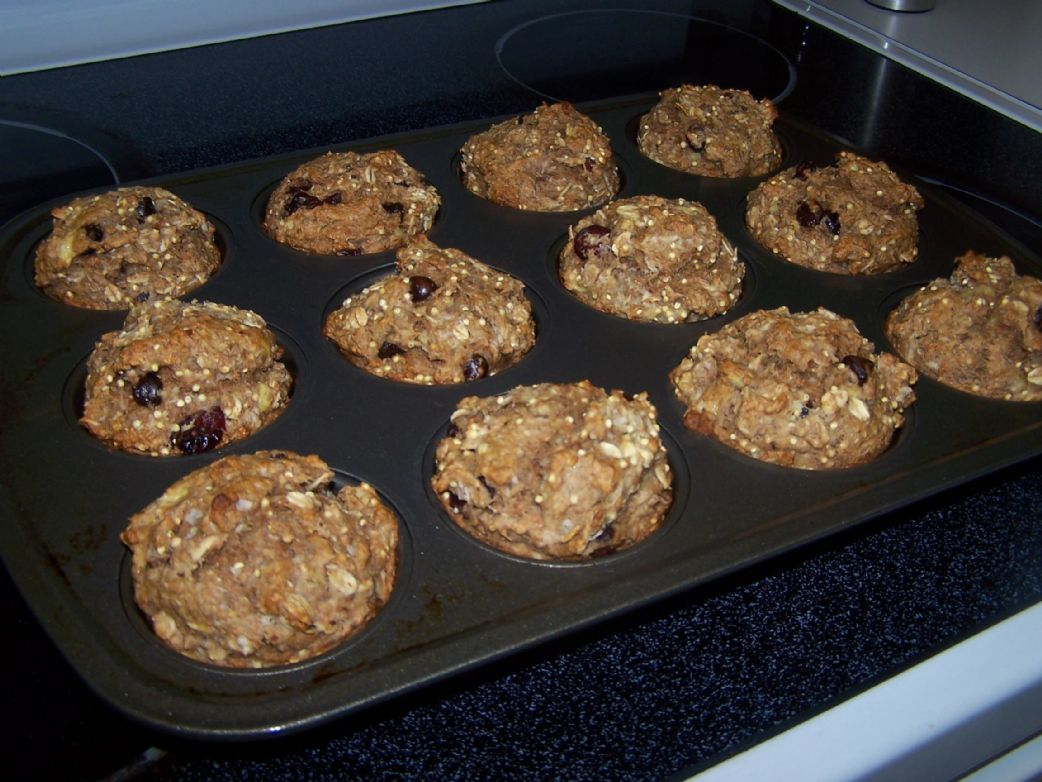 Banana Raisin Muffins (modified)