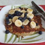 Banana and Blueberry flourless Pancakes