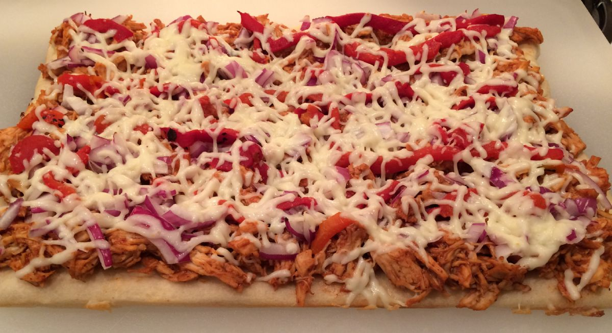 Barbecue Chicken Flatbread