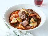Beef Stew with Root Vegetables and Mushrooms (Slow Cooker)