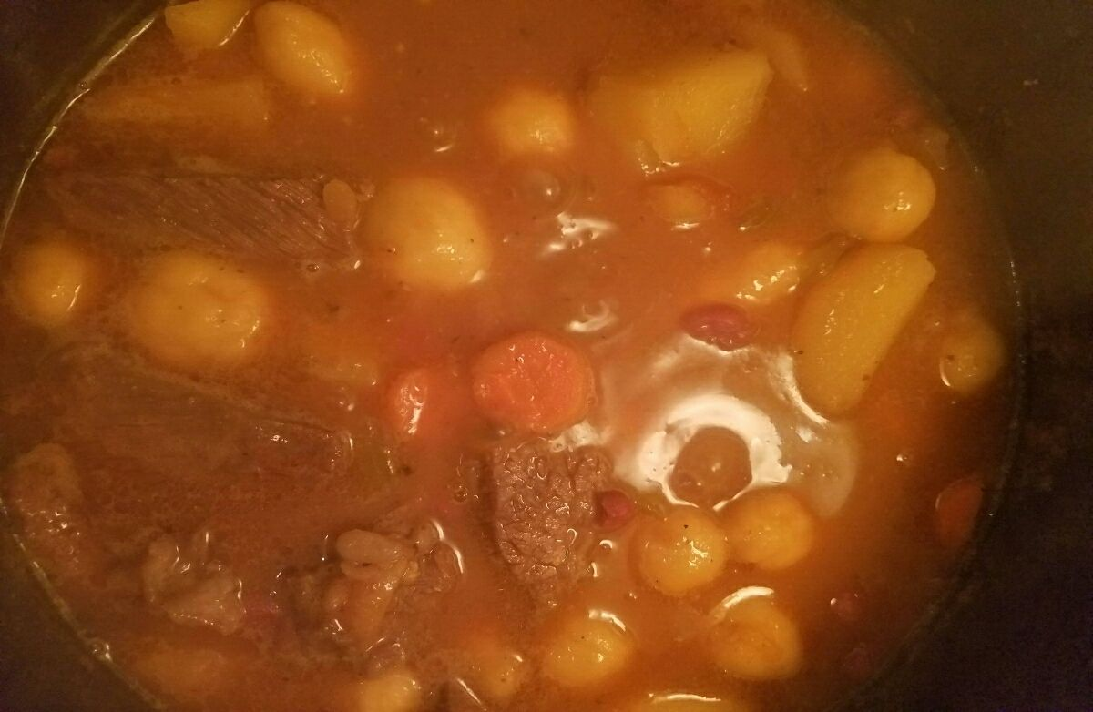 Beef chuck soup