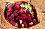 Beets with Olive Oil and Red Wine Vinegar