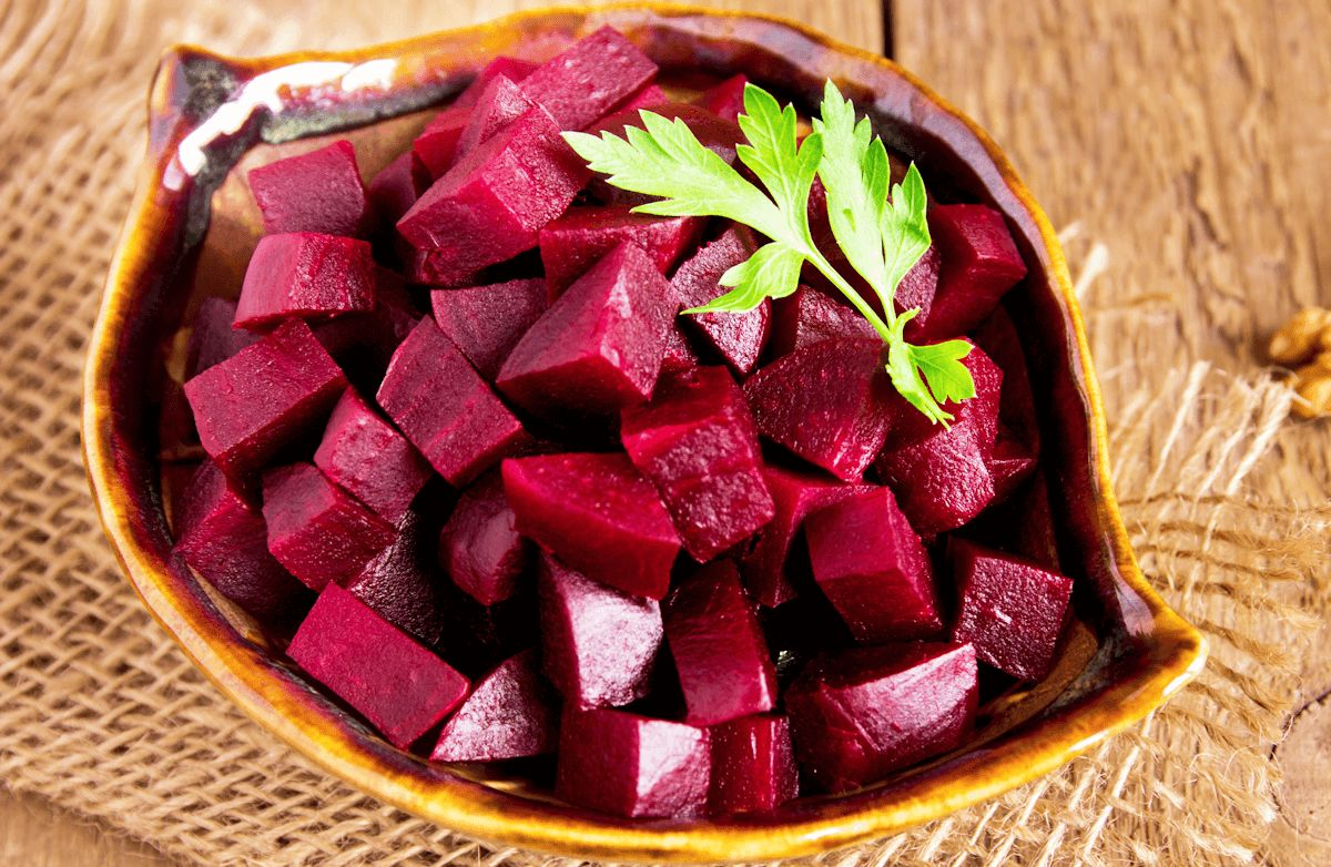 Beets With Olive Oil And Red Wine Vinegar Recipe Sparkrecipes