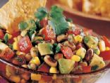 Black Eyed Pea and Hominy Salad