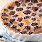 Atkins Blackberry Clafouti