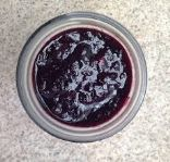 Blueberry jam with xylitol