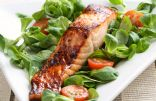 Bourbon Glazed Salmon