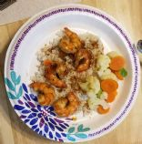 Bourbon Glazed Shrimp
