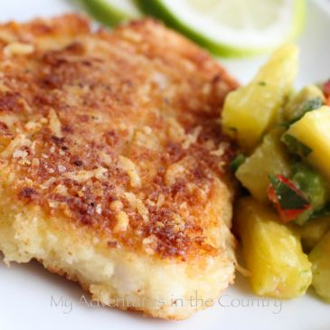 Breaded Baked Swai Fillets