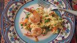 Breakfast shrimp scramble