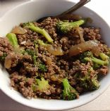 Broccoli and Ground Beef
