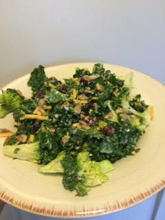 Broccoli and Kale Salad