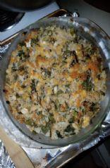 Brown Rice Protein Blend Casserole