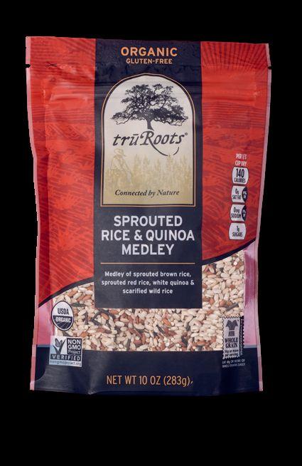 Brown Rice Quinoa Tuna Casserole