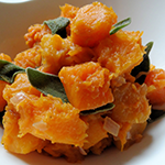 Atkins Browned Pumpkin with Maple and Sage