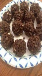 Brownie protien truffles