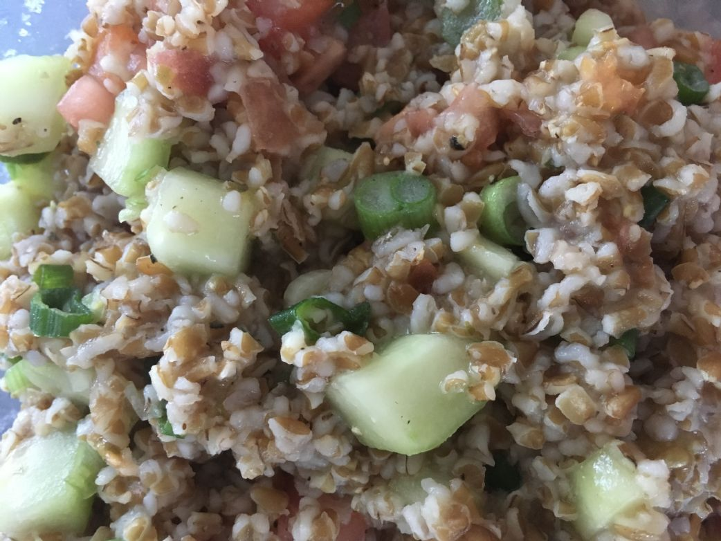 Bulgar Wheat Salad w/ Lemon Vinaigrette