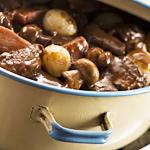 Atkins Burgundy Beef Stew (Boeuf Bourguignonne)