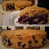Cake: Loaded Blueberry Buckle