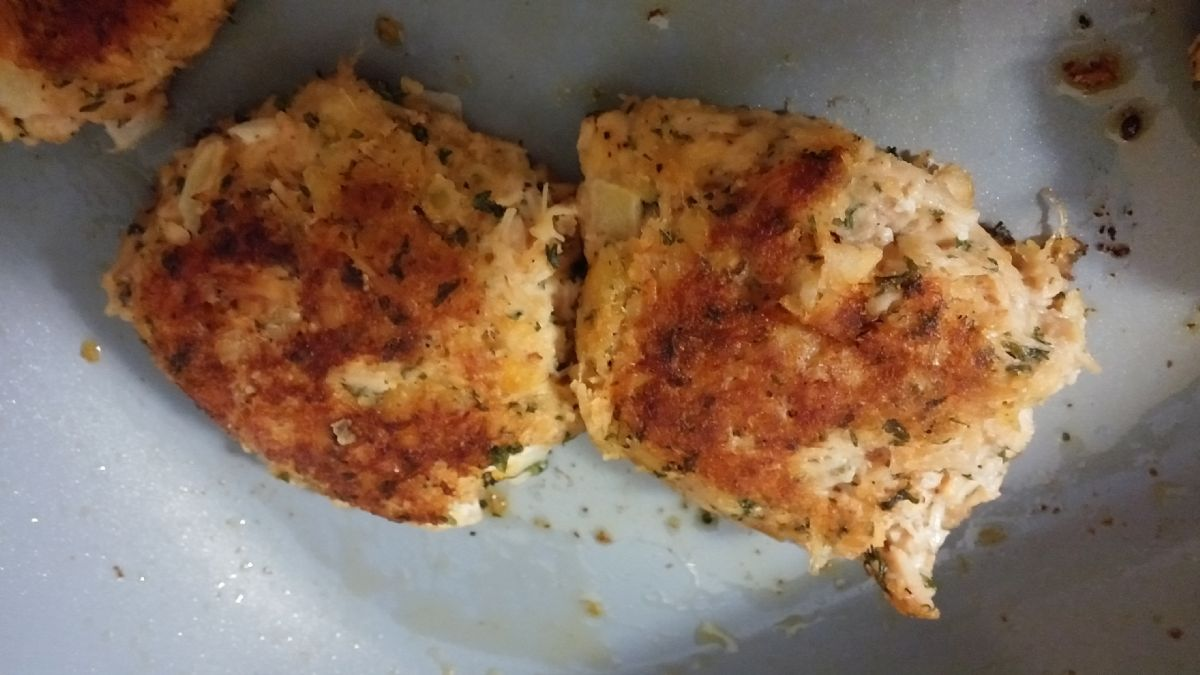 Canned Chicken Cakes Recipe Sparkrecipes