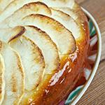 Atkins Caramelized Pear Custard
