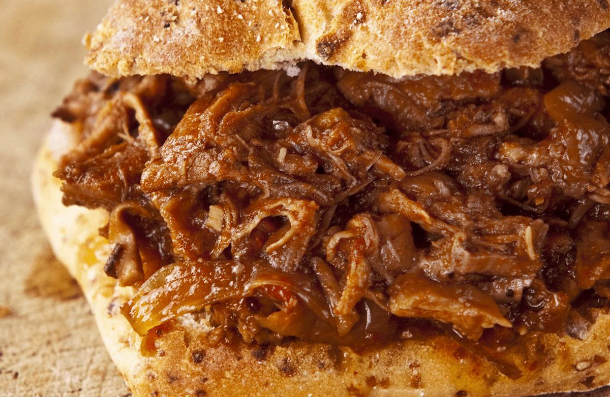 how to make bbq roast beef in crock pot