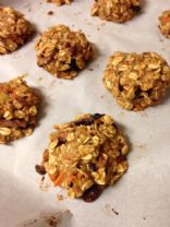Carrot Oatmeal Protein Breakfast Cookies