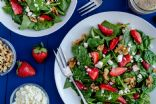 Cat O's Strawberry Walnut Ricotta Salad