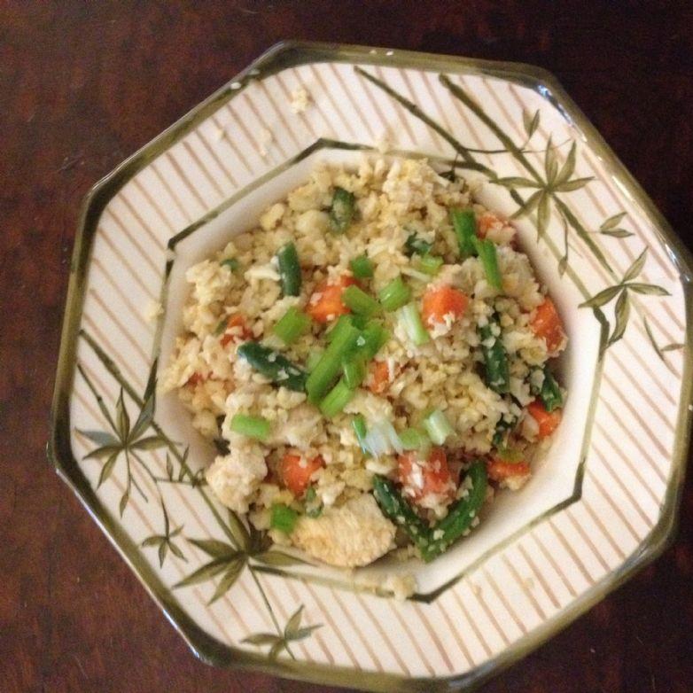 Cauliflower Fried Rice
