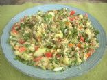 Cauliflower Spicy and Super Herbed Couscous (Butterfly19611)