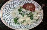 Cauliflower Spinach Mash
