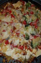 Cauliflower ranch pizza
