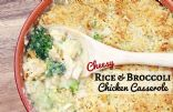 Cheesey Rice & Broccoli Chicken Casserole