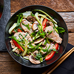 Atkins Asian Veggie and Pork Bowl