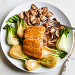 Atkins Asian Baked Salmon with Bok Choy